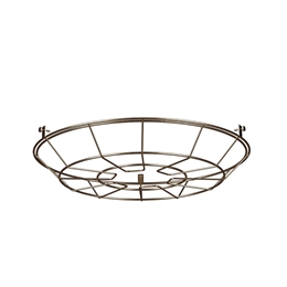David Hunt Lighting REC9975 Reclamation cage in Antique Brass finish