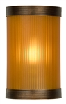 KANSA REED862 Amber Uplighter Glass With Antique WL5808