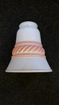 Spare Brick and white Coloured Glass Light Shade