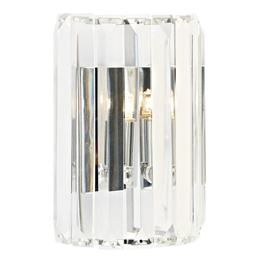Dar SKE0750 Sketch Crystal Wall Light