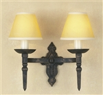 Impex Lighting SMRR00132/BLKG Baronial Black and Gold