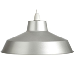 Loxton Lighting SP390ALL Alluminium Pendant Shade Only