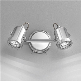 Franklite SPOT8942 Studio Double Wall Spotlight