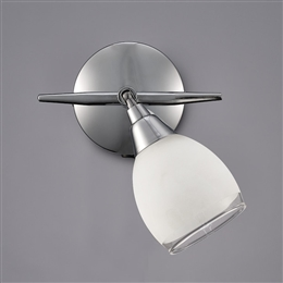 Franklite SPOT8961 Lutina 1 light switched Spot in Chrome finish