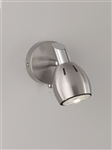 Hull Lighting SPOT9001 Tivoli Single Light LED Spot in Satin Nickel Finish