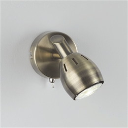 Franklite SPOT9011 Tivoli Single Light LED Spot in Bronze Finish