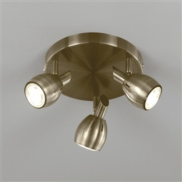 Franklite SPOT9013 Tivoli 3 Light LED Spot in Bronze Finish