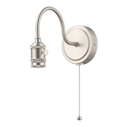 Dar SPW0761 Wall Bracket in Antique Chrome finish