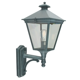 Elstead T1 Verdigris Turin Up Pointing Wall Lantern.