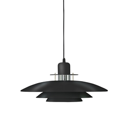 Belid Primus T1213-16 Black and Chrome Fixed Pendant.