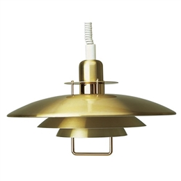 Belid Lighting Primus II T1214-10 Brass Finish Rise and Fall Pendant