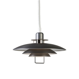 Belid Lighting Primus II T1214-155 Oxide Grey Finish Rise and Fall Pendant
