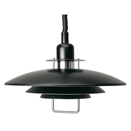 Belid Lighting Primus II T1214-16 Black Finish Rise and Fall Pendant