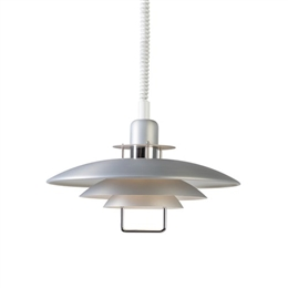 Belid Lighting Primus II T1214-199 Silver Oxide Finish Rise and Fall Pendant
