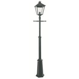Elstead Norlys TG5 Turin Grande Black Lamp Post