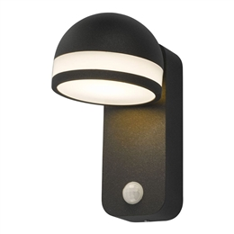 Dar TIE1539 Tien LED Exterior Wall Light in Anthracite finish