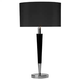 Dar Lighting VIK4022 Viking Table Lamp with Shade.