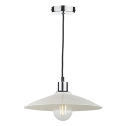 Dar YIF6515 Ivory Gloss Easy fit Non Electric Pendant