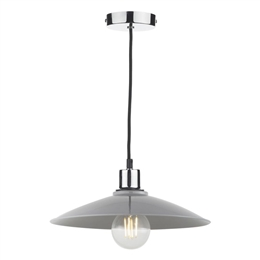 Dar YIF6539 Light Grey Easy fit Non Electric Pendant