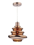 DAR ZEP6564 Zephyr 1 Light Non-Electric Pendant.